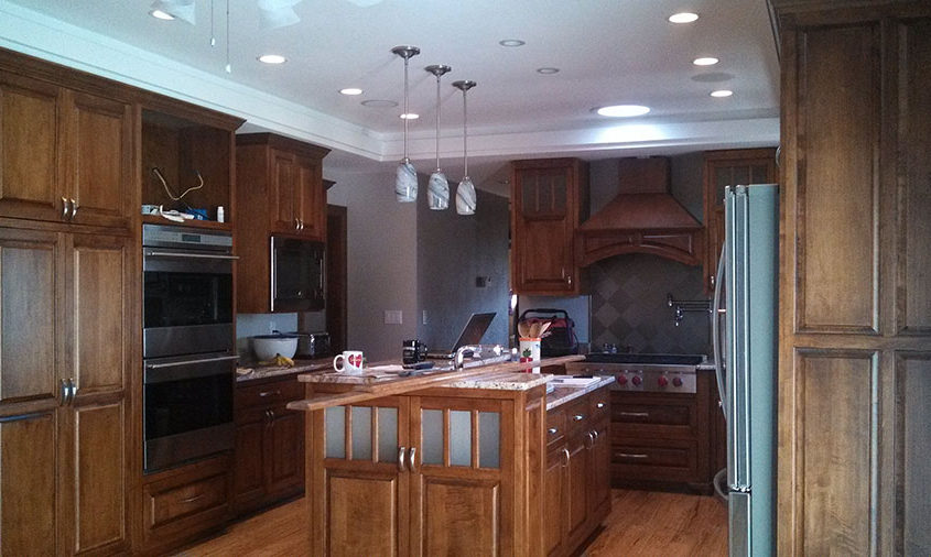 Wisconsin kitchen remodeling by High Quality Contracting Inc