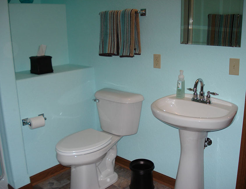 Wisconsin bathroom remodeling by High Quality Contracting Inc
