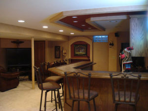 home addition, wet bar