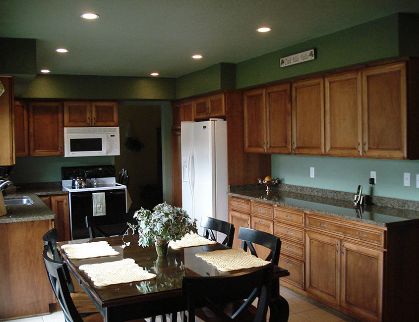 Wisconsin kitchen remodeling by High Quality Contracting
