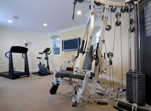 home addition, home gym ideas