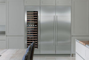 AJ Madison's Column Refrigeration, Freezer, and Wine cooler