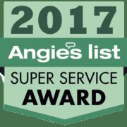 Angies List 2017 Super Service Award Winner