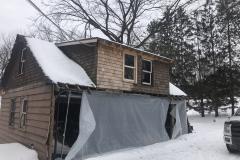 Garage Rebuild Before