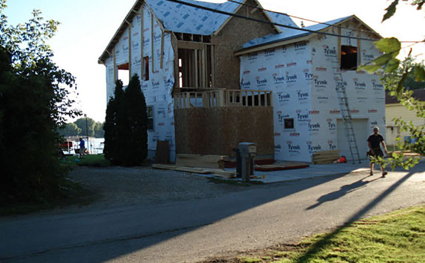 Wisconsin addition construction and framing