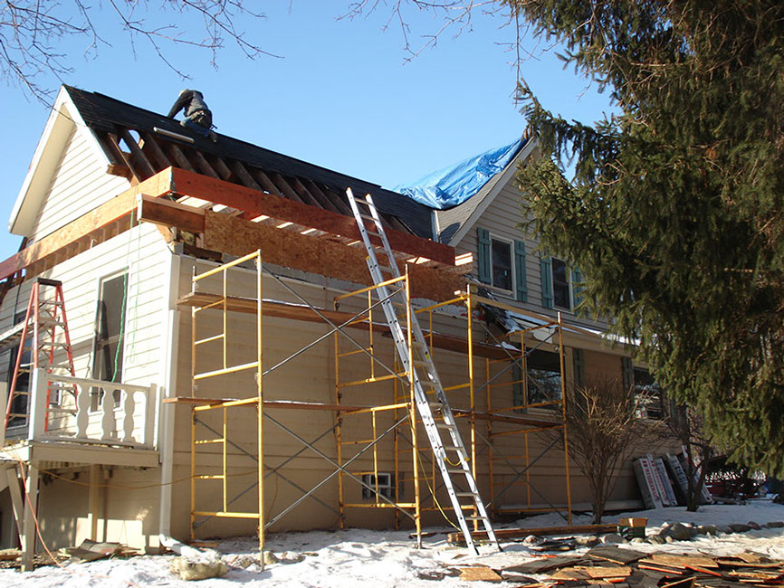 Wisconsin roofing construction