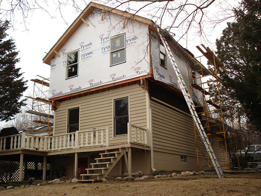 Wisconsin home addition contractor