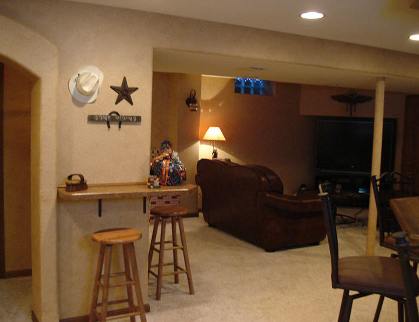 Wisconsin basement remodeling by High Quality Contracting Inc
