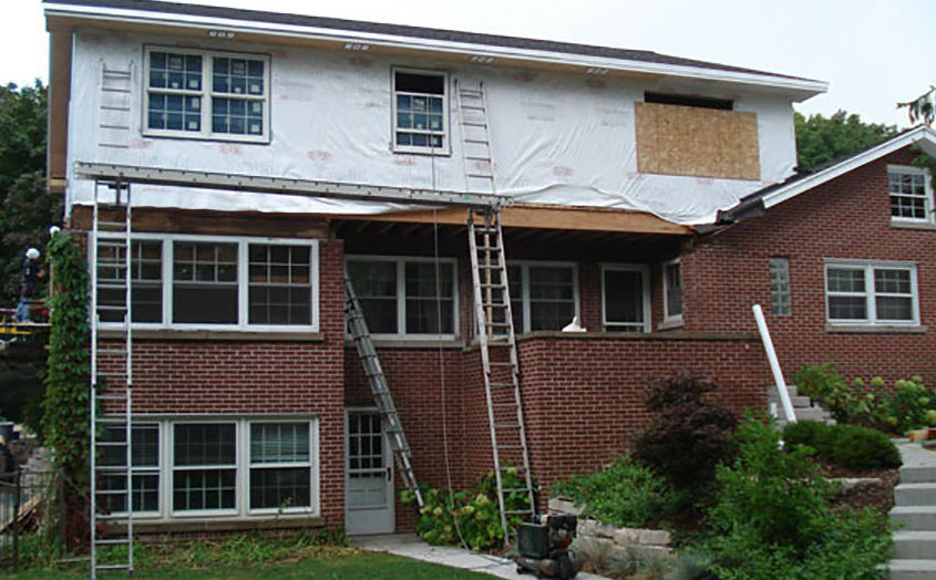 Elm Grove home construction contractor- addition construction