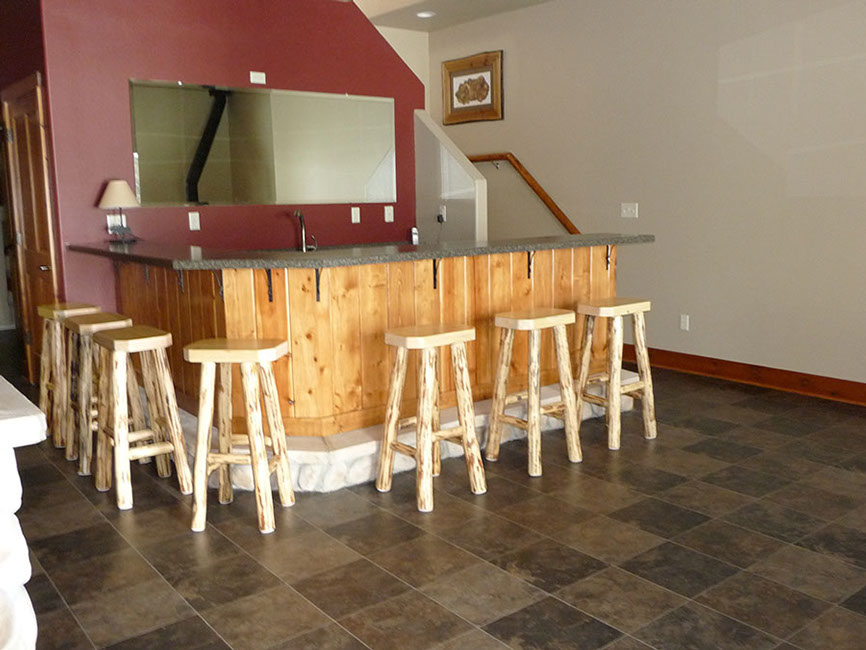 Wisconsin home construction contractor - bar construction