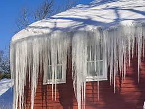 What is Ice Damming and how does it affect my roof?