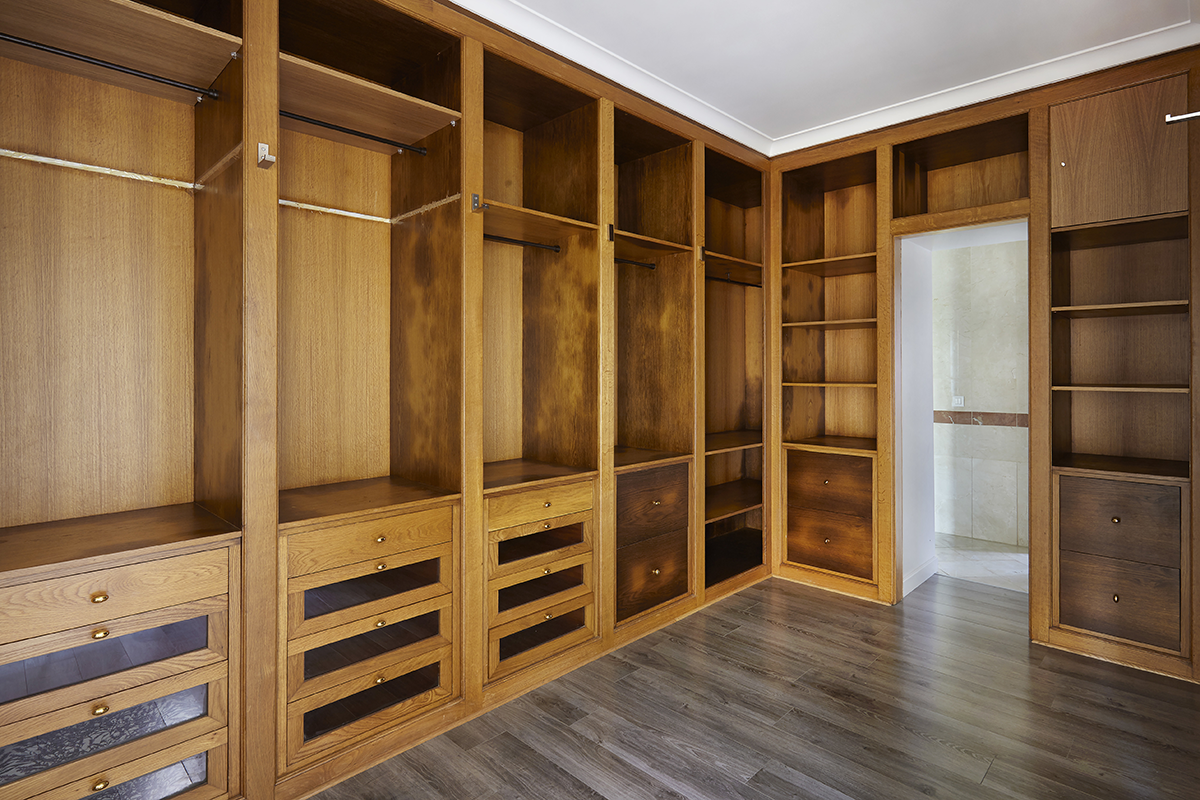 Customizing a Closet to Declutter Your Home