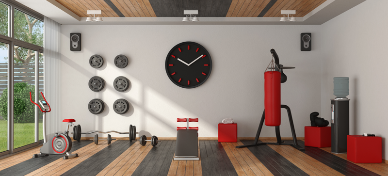 Pump Up with a New Home Gym