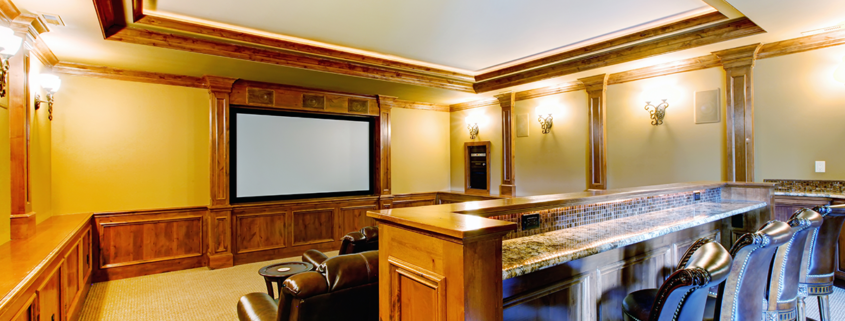 Wisconsin creative home theaters