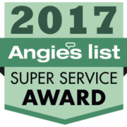 Angies List 2017 Super Service Award Winner