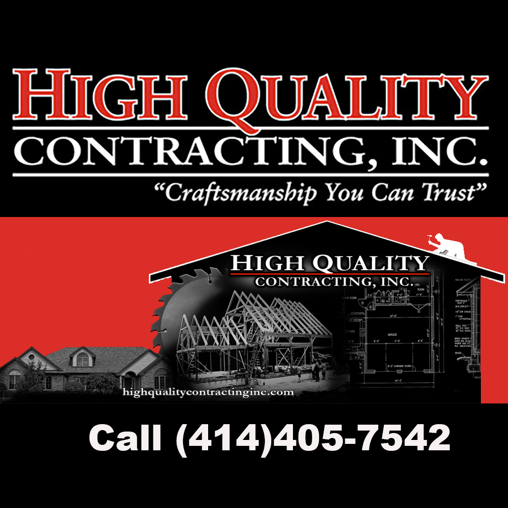 Wisconsin's New Home Construction & Remodeling  Contractor|High Quality Contracting, Inc.