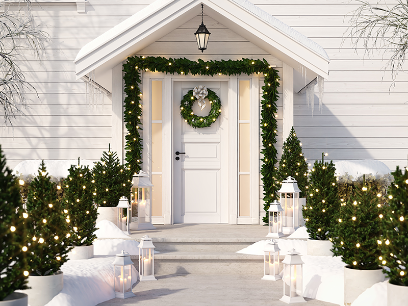 Elegant Clean Lines - A Timeless Entrance