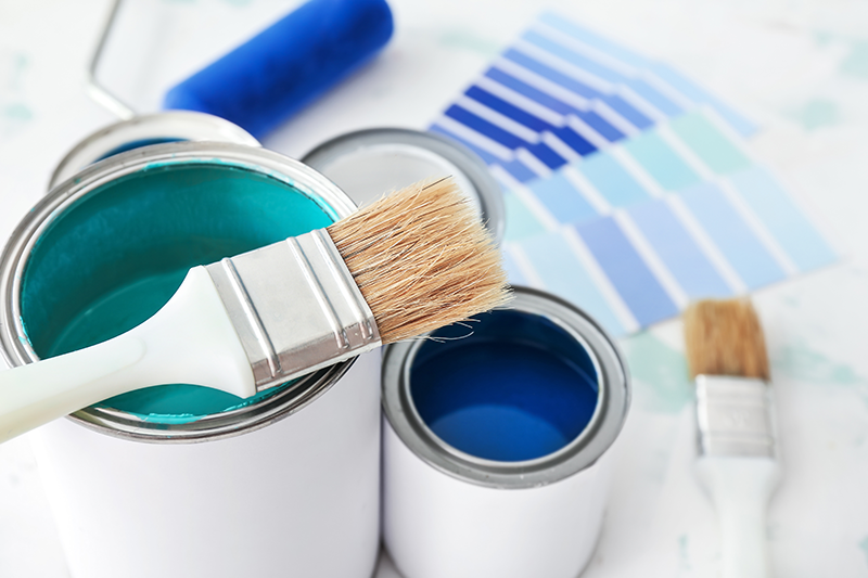 Warm & Welcoming Colors: How to choose the right paint for your project.